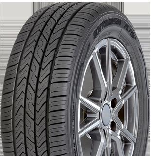 Toyo Extensa A/S II all-season value tire - left angle photo