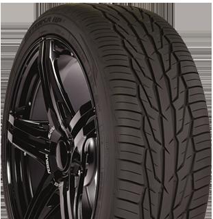 Toyo Extensa HP II performance tire - photo right angle view