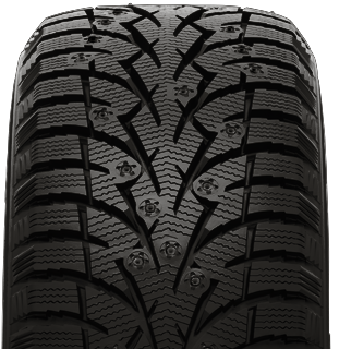 Toyo Observe G3-ice winter tire - photo tread view - without studs