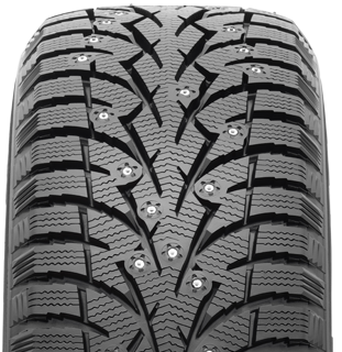 Toyo Observe G3-ice winter tire - photo tread view - with studs