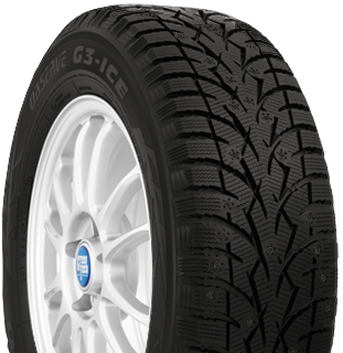 Toyo Observe G3-ice winter tire - photo right angle view - without studs