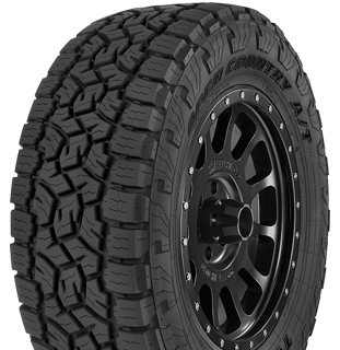 Open Country A/T III tire photo - left angle view