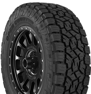 Open Country A/T III tire photo - right angle view