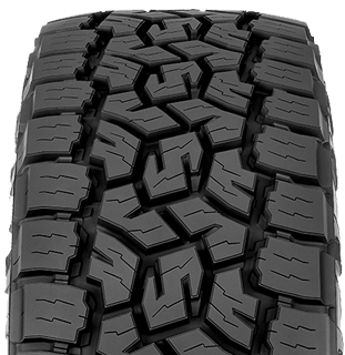 Open Country A/T III tire photo - front view of tread pattern