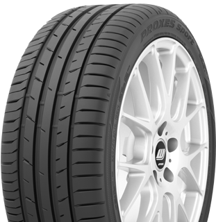 Toyo Proxes Sport sumer performance tire - photo left angle view