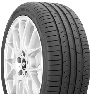 Toyo Proxes Sport summer performance tire - photo right angle view