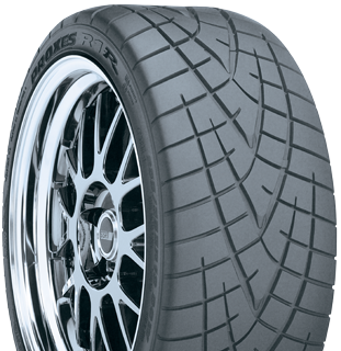 Toyo Proxes R1R extreme performance tire - photo right angle view