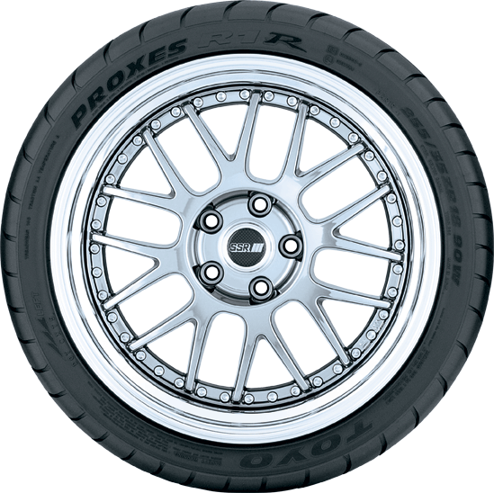 Toyo Proxes R1R extreme performance tire - photo sidewall view