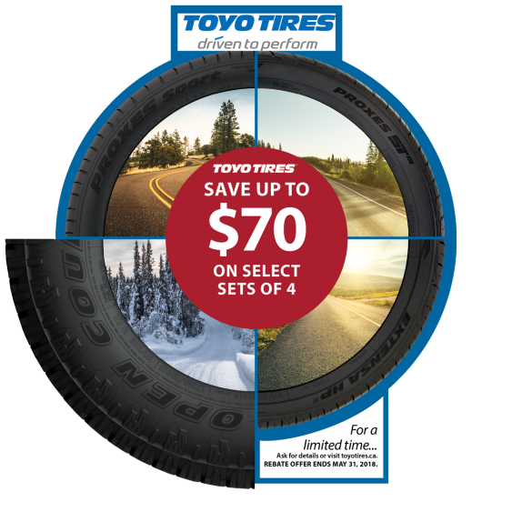New Brunswick Hst >> CURRENT SALES | Toyo Tires Canada