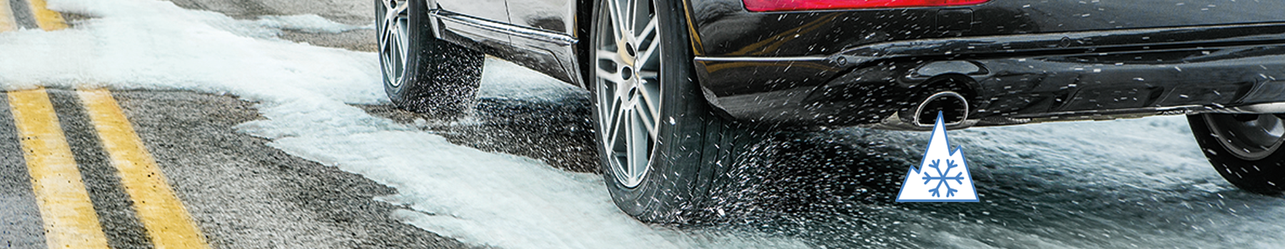 The celsius all weather tire delivers the longevity of an all season tire with enhanced cold weather traction.