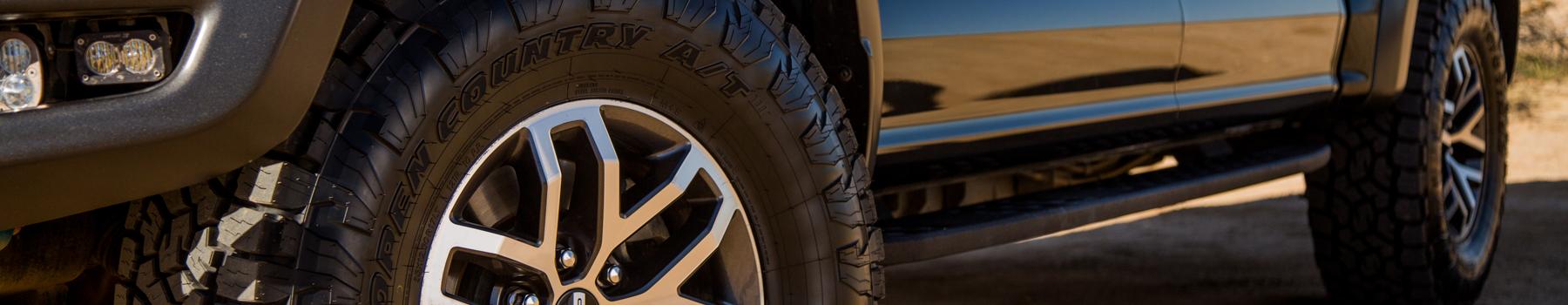 Toyo's all terrain all weather light truck tire