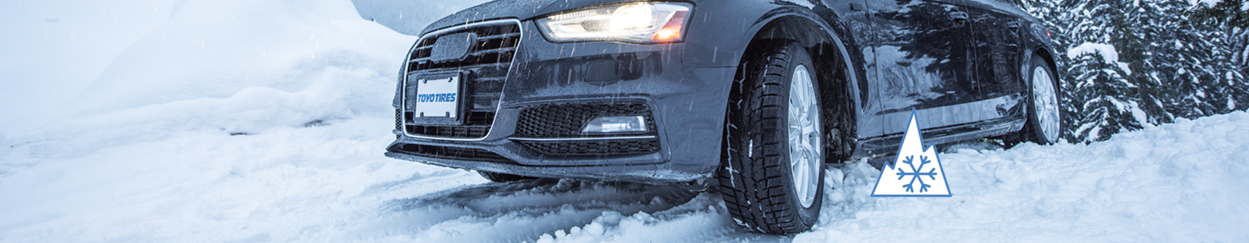Toyo's GSi-6 studless winter tire is designed for the toughest winter conditions