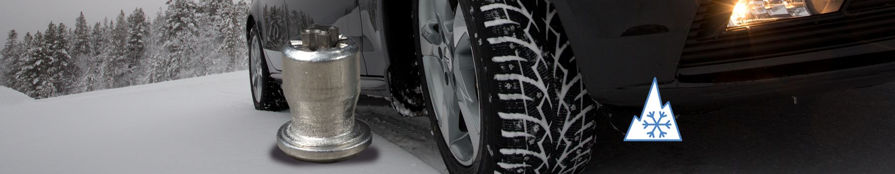 Toyo Observe G3-ice factory studded  winter tire action view