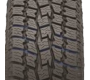 wide evacuation grooves on Toyo's all weather light truck tire