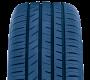 dessin de la bande de roulement sur le pneu de performance toutes saisons Toyo proxes Sport