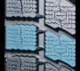 Pneu hiver GSi5 avec larges pavés et bords de dent de scie.
