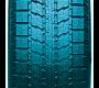 volume de silice plus élevé et répartition améliorée dans le mélange de gomme du pneu d'hiver