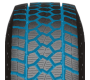 Wide deep grooves on toyo's light truck winter tire