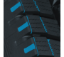 sipe and dimple design of Toyo's light truck winter tire