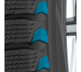 Toyo's GSi-6 HP performance snow tire has a tapered shoulder wedge