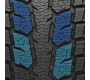 Large inner blocks with saw tooth edges on Toyo's performance winter tire