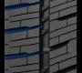 rainures sur le pneu commercial de toyo à saison variable toute l'année