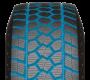 larges rainures profondes sur le pneu d'hiver pour camionnette de toyo