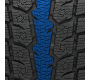 serrated stability  rib found on the GSi-6HP studless performance winter tire