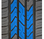 The centre blocks of Toyo's value all season tire