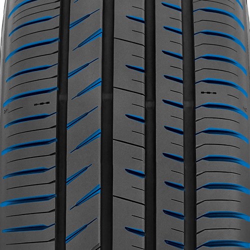 large lateral and angled grooves on the Proxes Sport All Season Performance tire
