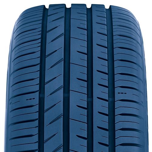 asymmetrical tread design on the Toyo Proxes Sport All Season Performance tire