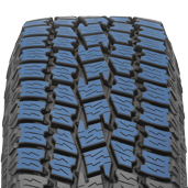 large tread blocks found on  toyo's all weather pickup truck tire