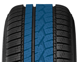 Toyo's all weather passenger  tire has an advanced tread design