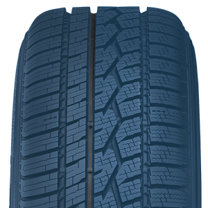 The Celsius all weather passenger tire has a special tread compound