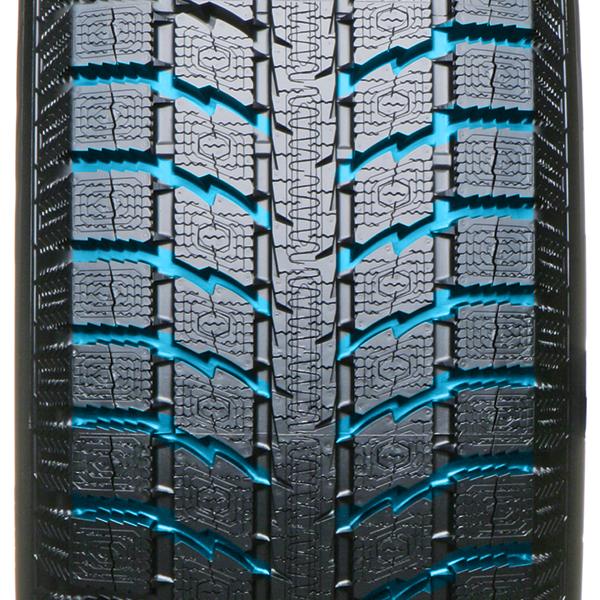 Dessin de bande de roulement unidirectionnel du pneu d'hiver GSi5