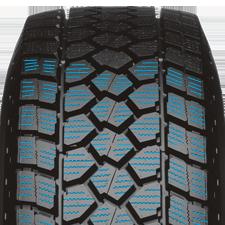 toyo's light truck winter tire has increased sipe density