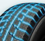 Wide grooves found on toyo's cold weather tire tires