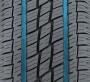 Le pneu de ville pour camions légers a deux profondes rainures d'évacuation