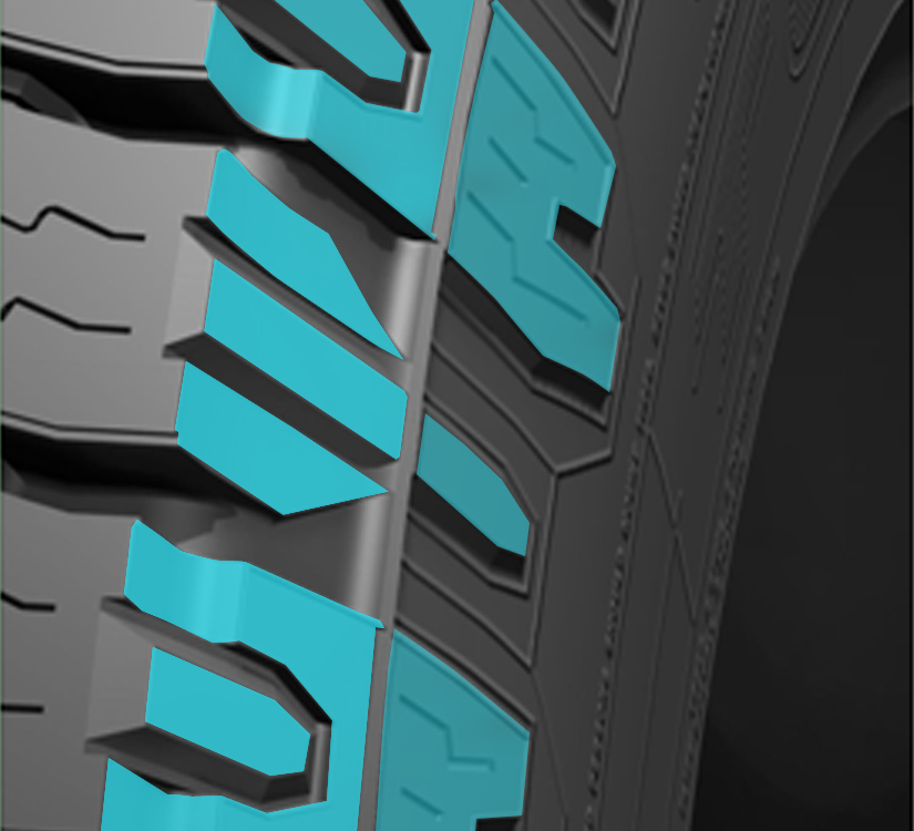 Toyo's all terrain light truck tires comes in flotation sizes