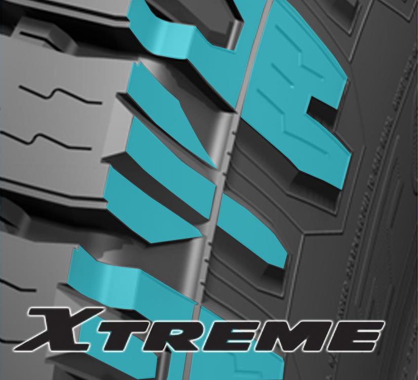 Les pneus de la gamme  « XTREME »