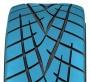 Design unidirectionnel en forme de pointe de flèche du pneu de performance extrême Proxes R1R