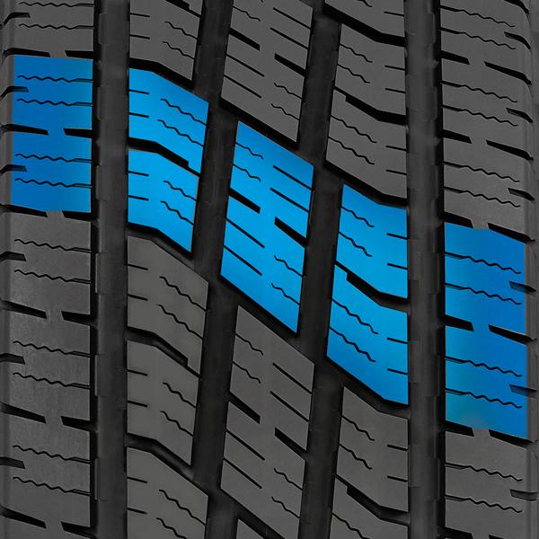 bande de roulement seign du pneu de route pour camions légers toutes saisons de Toyo