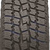 wide evacuation grooves on Toyo's all weather pickup truck tire