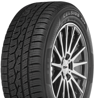 Toyo all weather cuv and suv tire-left side