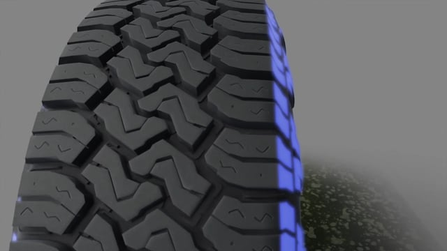 Aggressive sidewall and buttress