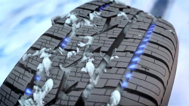 ADDED SNOW AND ICE TRACTION