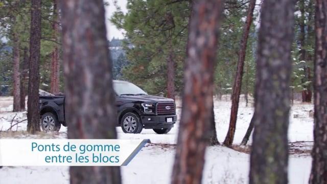 PONTS DE GOMME ENTRE LES BLOCS