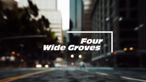 FOUR WIDE CIRCUMFERENTIAL GROOVES