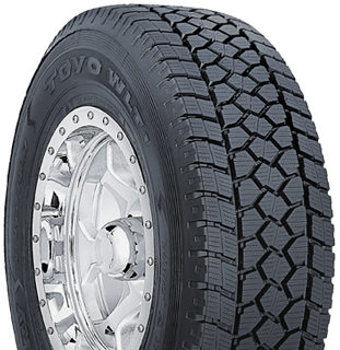Toyo Open Country WLT1 winter light truck tire - photo right angle view
