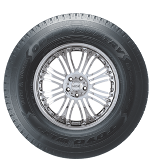 Toyo Open Country WLT1 winter light truck tire - photo sidewall view